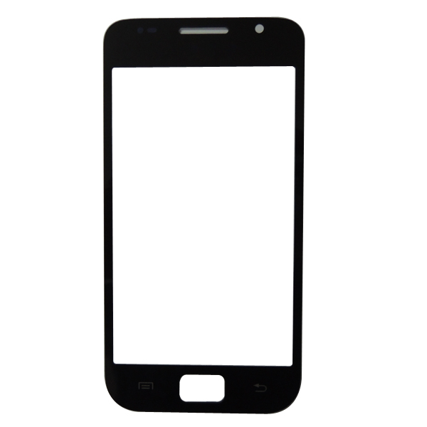 Vetro Frontale Nero i9000 Samsung Galaxy S  Touch Screen + Adesivo